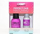 Orly Perfect Pair Matching Nail Polish + Gel FX Combo 2ct/pk (30931 - For the First Time)