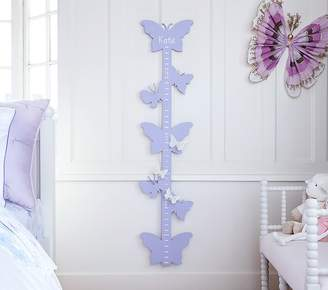 Pottery Barn Kids Butterfly Cutout Growth Chart, Lavender