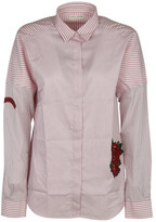 Each X Other Embroidered Striped Shirt