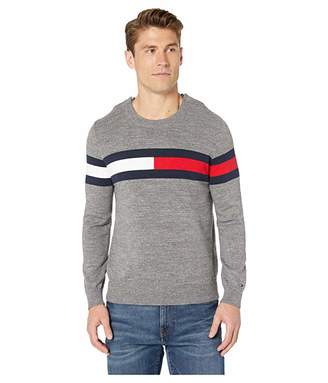 Tommy Hilfiger Adaptive Flag Crewneck Sweater