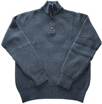 Loro Piana Blue Cashmere Knitwear & Sweatshirts