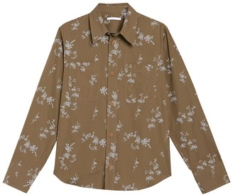 Helmut Lang Printed Shirt Jacket
