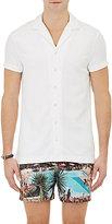 Orlebar Brown Men's Short-Sleeve Travis Shirt-WHITE
