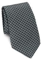 Giorgio Armani Mini Diamond Silk Tie