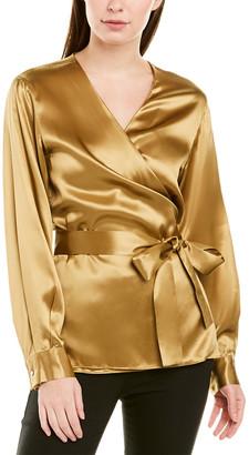 Lafayette 148 New York Freya Silk Blouse