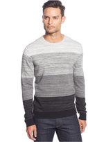 Alfani Men's Spacedye Colorblocked Sweater