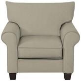 Wayfair Custom Upholstery Natalie Armchair Body Fabric: Hilo Seagull