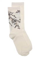 HUE Blossom Womens Crew Socks