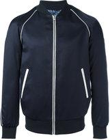 Grey Daniele Alessandrini zipped jacket - men - Cotton/Polyester/Spandex/Elastane/Viscose - 46