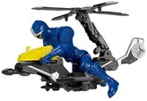 Power Rangers Ninja Steel Mega Morph Copter with Blue Ranger