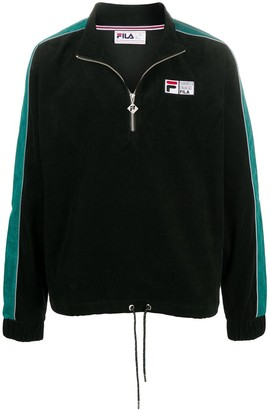 Fila Stripe Trim Pullover Sweatshirt
