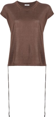 Peserico Maglia short-sleeved knitted top