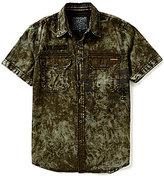 Affliction JarHead Short-Sleeve Woven Shirt
