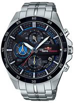Casio Efr-556tr-1aer Edifice Scuderia Toro Rosso Chronograph Date Bracelet Strap Watch, Silver/black