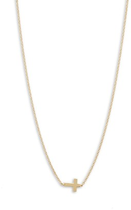 Saks Fifth Avenue 14K Yellow Gold Small Cross Chain Necklace
