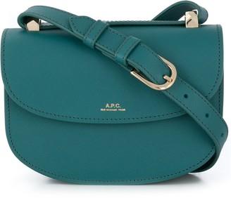 A.P.C. Logo Print Adjustable Strap Shoulder Bag