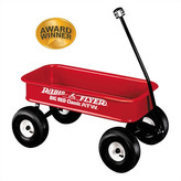 Radio Flyer Big Red Classic Ride-On Wagon