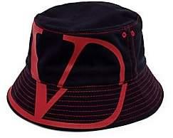 Valentino Men's Garavani V Logo Bucket Hat