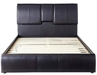 Orren Ellis Nikola Low Profile Storage Platform Bed Size: Queen