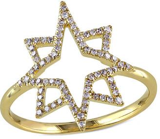 Diamond Select Cuts 14K 0.21 Ct. Tw. Diamond Star Ring
