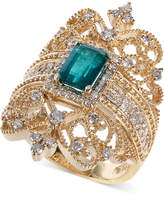 Effy Brasilica by Emerald (9/10 ct. t.w.) and Diamond (3/4 ct. t.w.) Ring in 14k Gold
