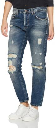LTB Women's Sanvi Selvedge Boyfriend Jeans