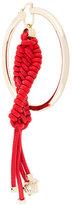 Versace braided hoop earring