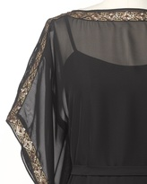 Coldwater Creek Sequin chiffon dress