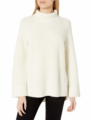 Joie Women's Oversized Knit Sweater with Long Cuffed Sleeves