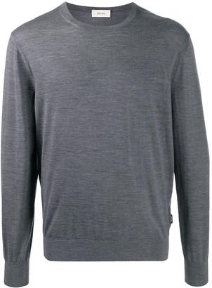 Ermenegildo Zegna Crew Neck Rib Knit Sweater