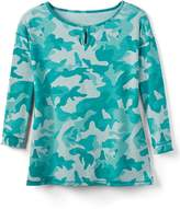 Talbots Camouflage Top