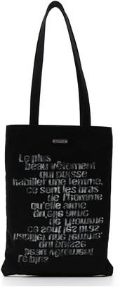 Saint Laurent Printed Tote Bag
