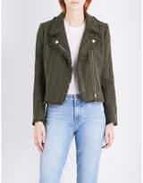 Claudie Pierlot Vendetta tweed biker jacket