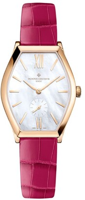Vacheron Constantin White Gold and Mother-of-Pearl Malte Watch 34.4mm