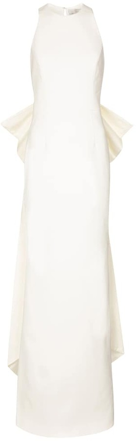 Thumbnail for your product : Rebecca Vallance Bridal Amore crepe gown