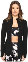 Kate Spade New York x Beyond Yoga - Back Bow Flounce Jacket Women's Coat
