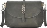 Antik Kraft Arrow Faux Leather Crossbody Bag