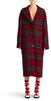 Burberry Women's Scottish Tartan Wool & Cashmere Reversible Coat