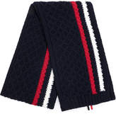 Thom Browne knit striped scarf