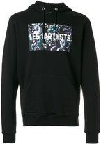 Les (Art)ists graphic printed hoodie - men - Cotton - S