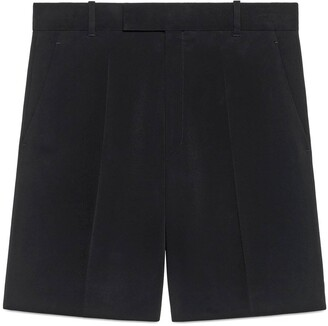 Gucci Cady viscose tailored shorts