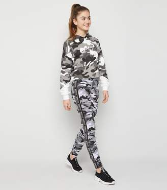 New Look Girls Light Camo Side Stripe Leggings