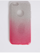 M&S Collection iPhone 6/6s Glitter Phone Case