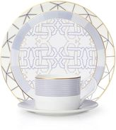 B by BrandieTM Rome 5-Piece Place Setting in Navy/Gold