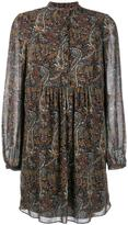 Saint Laurent floral print dress - women - Silk/Viscose - 34