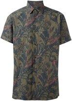 Salvatore Ferragamo printed short sleeve shirt - men - Cotton - S