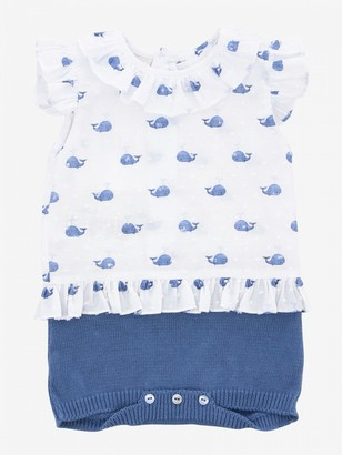 Paz Rodriguez Romper With Whale Pattern