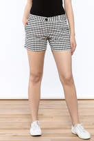 Jade Fun Checkered Shorts