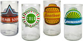 JCPenney Upcycle Fun in the Sun Set of 4 Highball Glasses