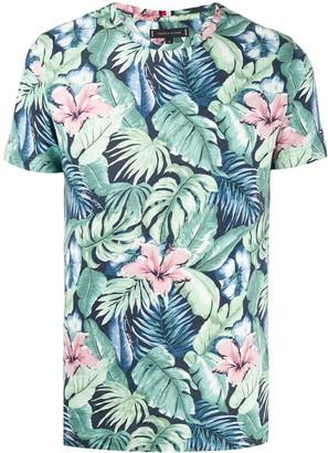 Tommy Hilfiger foliage print T-shirt